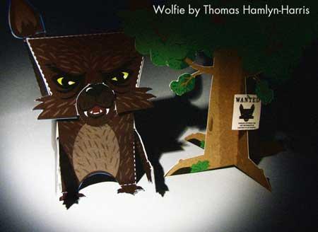 Wolfie Papercraft