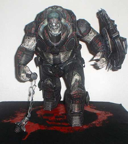 Gears of War Mauler Papercraft