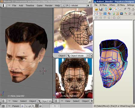 Tony Stark Papercraft Mask