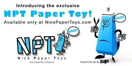NPT Paper Toy