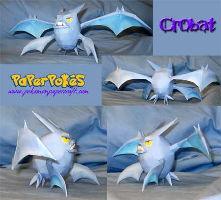 Pokemon Crobat Papercraft