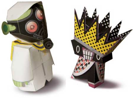 Quarantine Paper Toy
