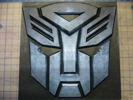 Transformers Autobot Logo Papercraft
