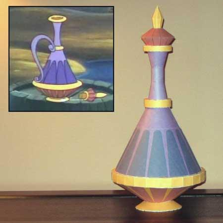 Disney Aladdin Papercraft