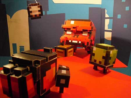 Super Crate Box Papercraft Contest Winner