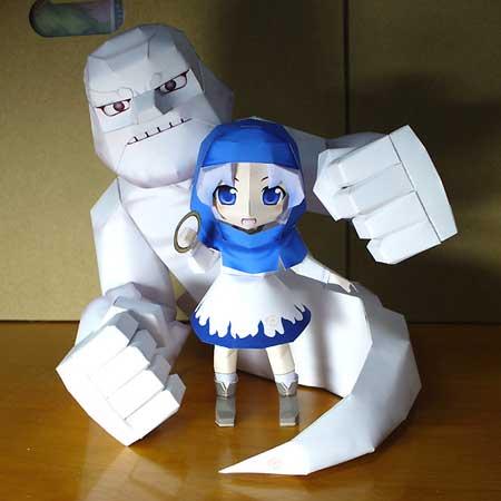 Touhou Project Papercraft Ichirin Kumoi Unzan
