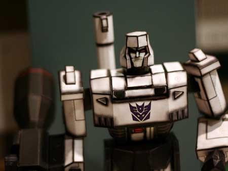 Transformers G1 Megatron Papercraft