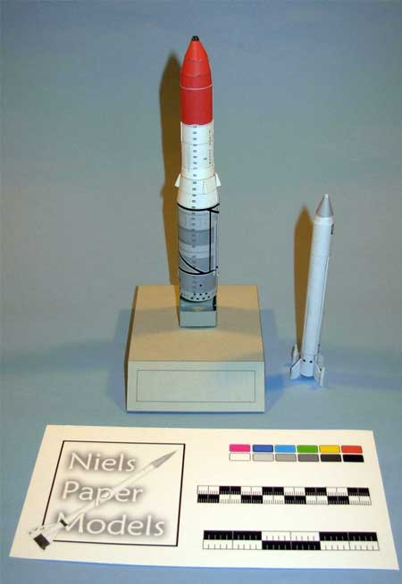 British Rocket Papercraft