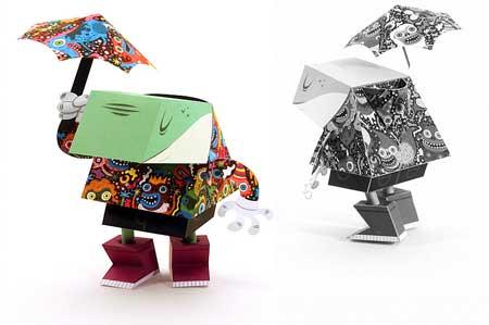 Dandyfrog Paper Toy