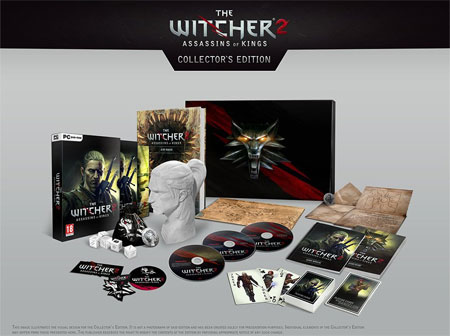 Witcher 2 Collectors Edition Big Bad Monster Papercraft