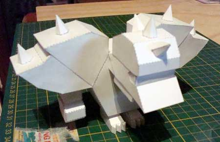 Uber Leet MMORPG Paper Toy