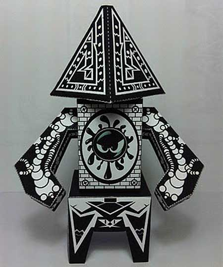 Nucleus Monstah Paper Toy