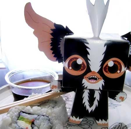 Gremlins Papercraft - Mohawk