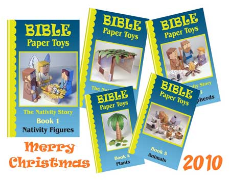 Bible Papercraft Nativity Scene