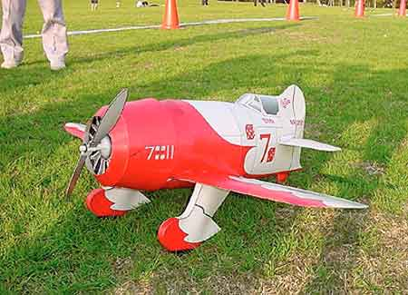 Gee Bee R2 Papercraft