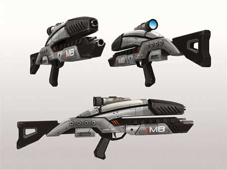 Mass Effect 2 M8 Avenger Papercraft