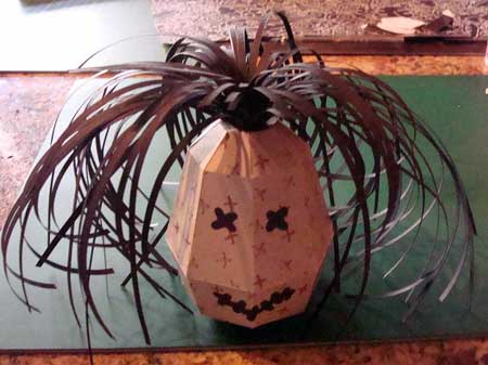 Shrunken Head Papercraft