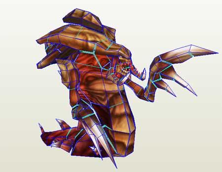 Hydralisk Papercraft