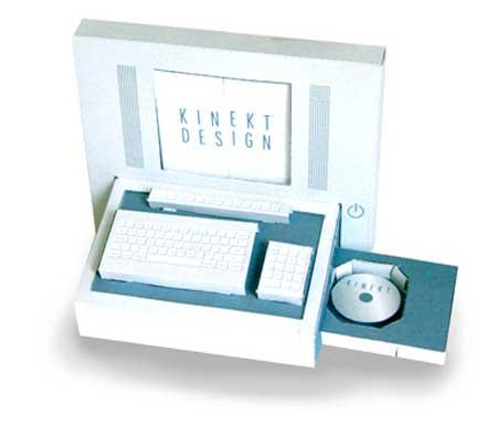 Kinekt Design Paper Computer