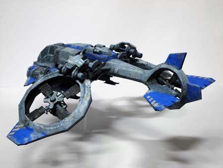 Starcraft 2 Banshee Papercraft