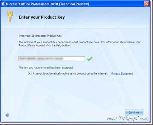 office 2010 key. Ms office 2010 Installation