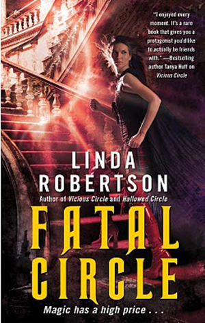 Cover Art: Fatal Circle by Linda Robertson