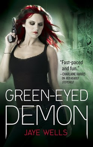 Cover Art: Green-Eyed Demon by Jaye Wells