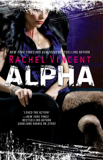 Cover Art: Alpha by Rachel Vincent