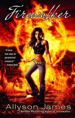 Cover Art: Firewalker by Allyson James