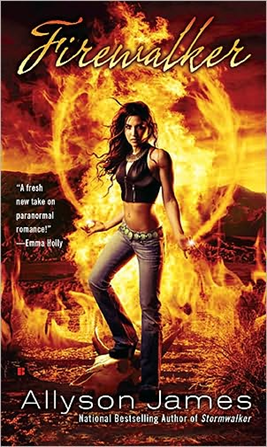 Early Review: Firewalker by Allyson James