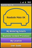 Screenshot of Roadside Mate UK