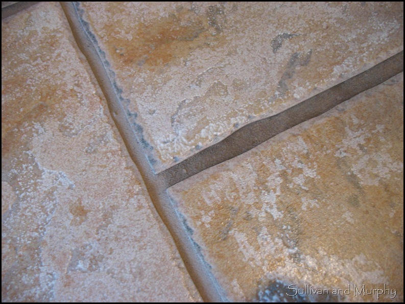 grout line