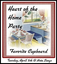 HoH party - fav cupboard