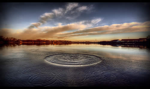 HDR Image Ripples