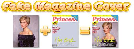 Fake Magazine Cover maker