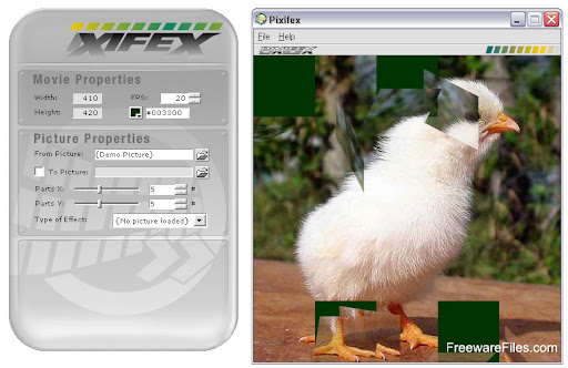 Pixifex bitmap editor