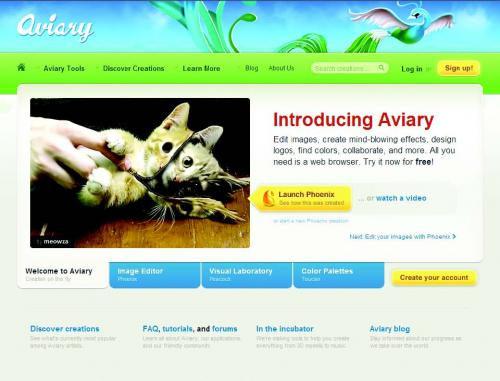 Aviary.com The photoshop Alternative and best online image editor