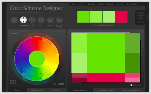Color Scheme Designer - Design Color Schemes