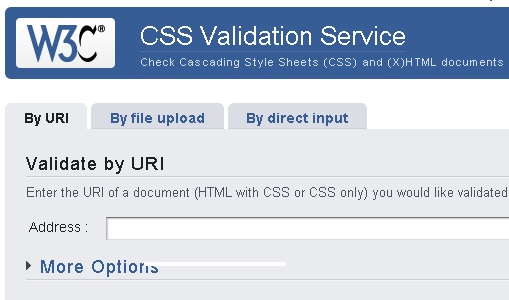 W3C Markup & CSS Validation Services