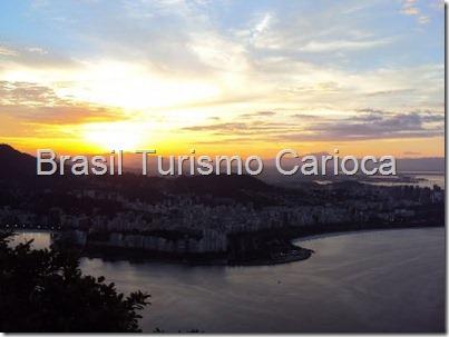 anoitecer rio carioca