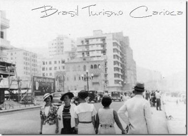 Av. Atlântica, esquina com Rua Rodolfo Dantas, Outubro de 1936