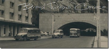 Túnel Novo, saída Copacabana, anos 50