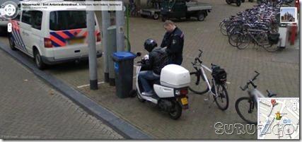 Flagras do Google Street  multa