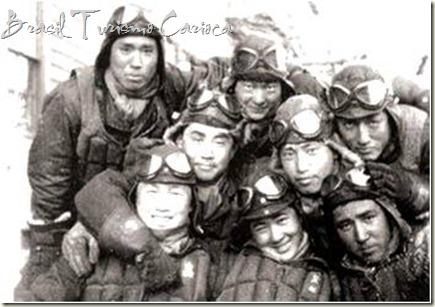 pilotos Kamikazes