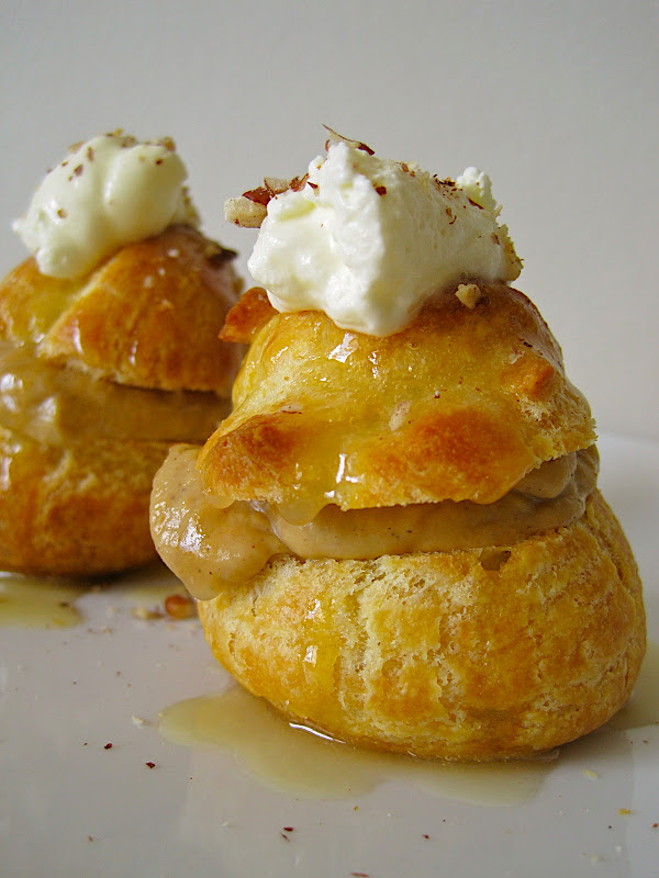 ... pumpkin pumpkin cream puffs with pumpkin custard profiteroles pumpkin