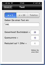 Sehr hilfreich! Buchstabenzahlumrechnung für Multicaches in der GC Buddy App