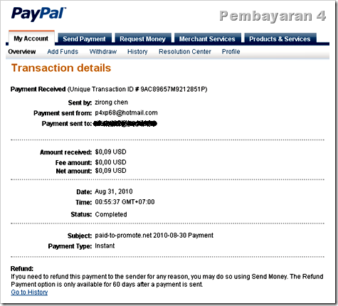payout proof paid-to-promote 4