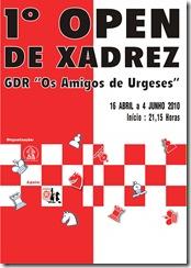 1º Open GDR cartaz