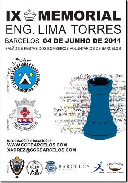 IX Memorial Lima Torres-cartaz