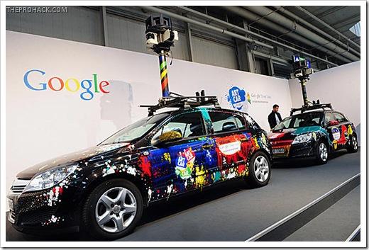 Google Street View Cars - theprohack.com